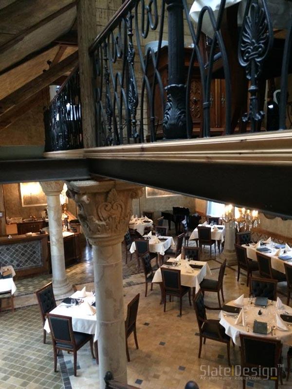Restaurant Și Bar 48 - furnir de piatră ultrasubțire