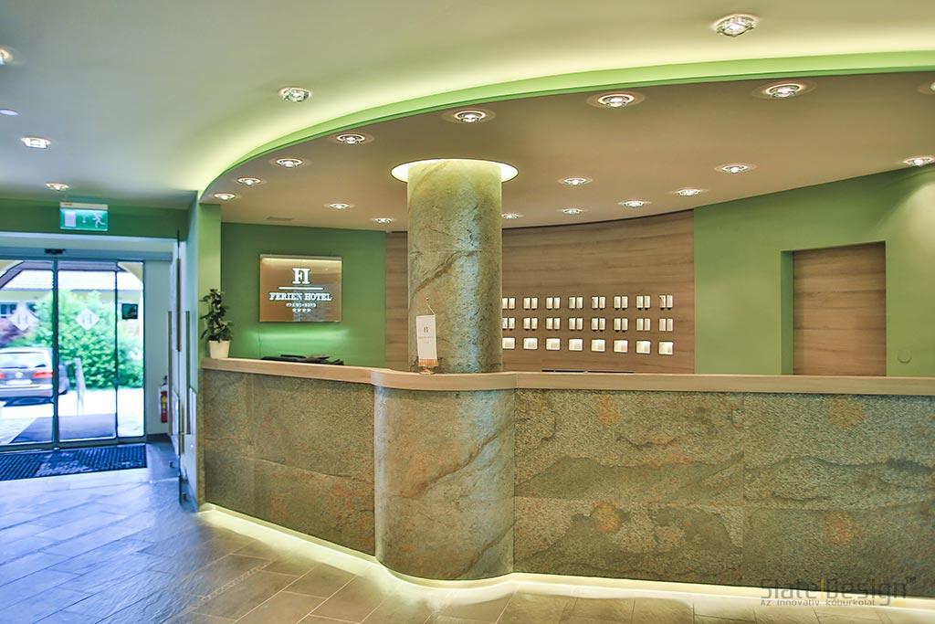 Ferien Hotel - furnir de piatră ultrasubțire
