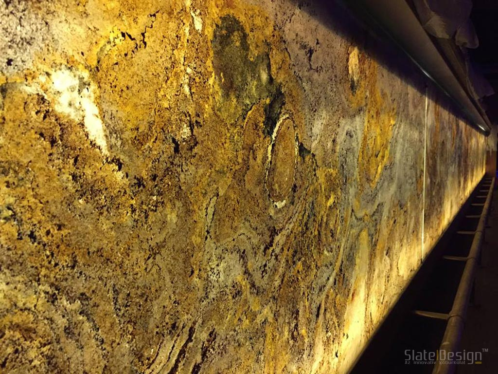 No. 1 Pub - furnir de piatră translucid