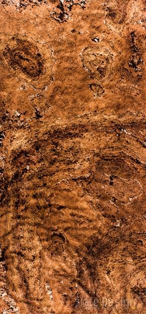 Terra Red Translucent furnir de piatră translucid