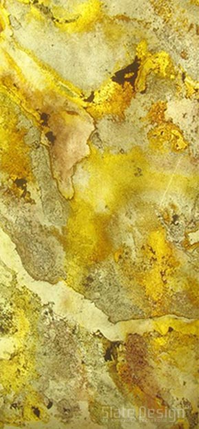 Sahara White furnir de piatră translucid